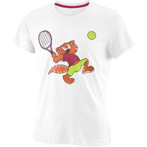 Wilson Tabby Tech Girls' Tennis T-Shirt  WRA793803