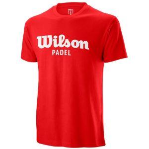 Wilson Padel Script Cotton Men's Tee WRA797301