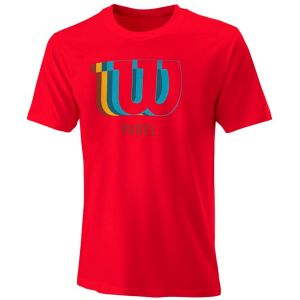 Wilson Padel Blur W Tech Men's Tennis Tee WRA797401