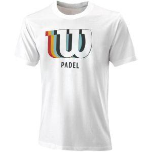 Wilson Padel Blur W Tech Men's Tennis Tee WRA797402