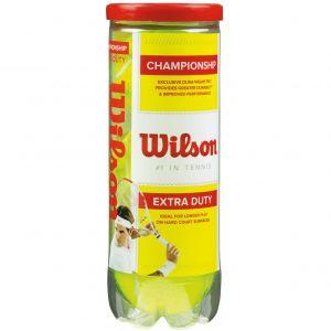 Wilson Championship Tennis Balls x 3 WRT100101