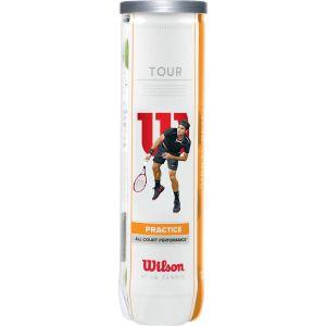 Wilson Tour Practice Tennis Balls x 4