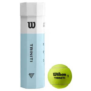 Wilson Triniti Tennis Balls x 4 WRT115200