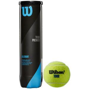 Wilson Tour Premier All Court Tennis Balls x 4 WRT119400