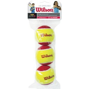 Wilson Starter Red Junior Tennis Balls x 3 WRT137001