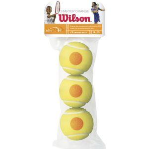 Wilson Starter Game Junior Tennis Balls x 3