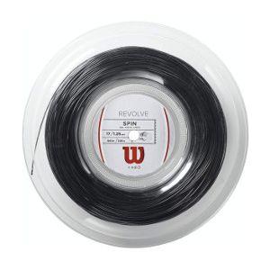 Wilson Revolve String (12m)-Black-1.25mm-pleksimo WRZ906900-17