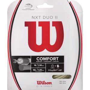 Wilson NXT Duo II Hybrid Tennis String (12.2 m)