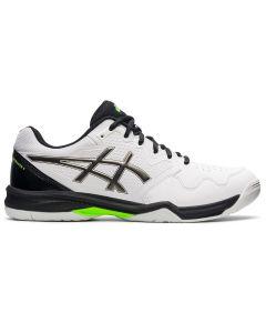 Asics Gel-Dedicate 7 Men's Tennis Shoes White Silver Green 1041A223-101