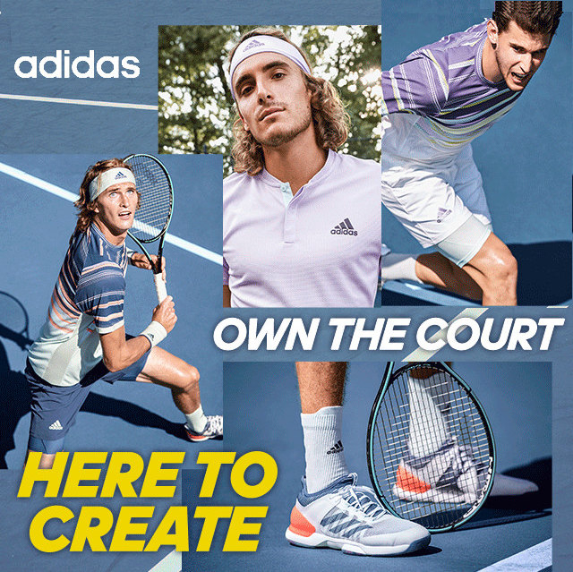Adidas Men's New Tennis Products